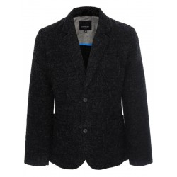 Top Secret Men's Blazer with Wool Black Color