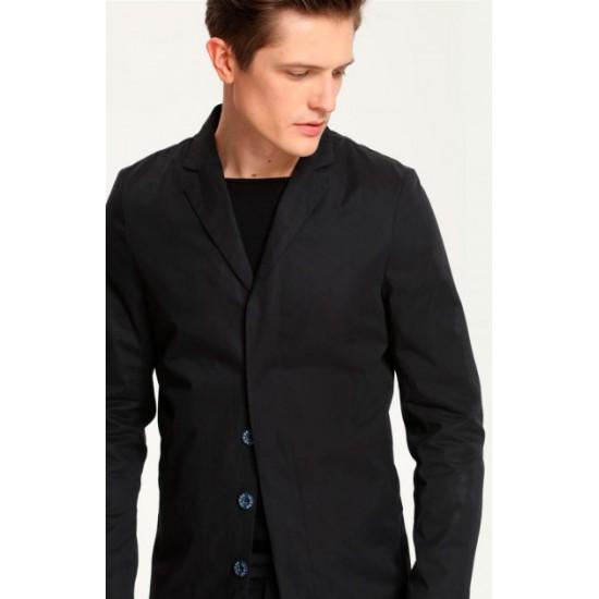 Top Secret Men's Raincoat Dark Blue Color