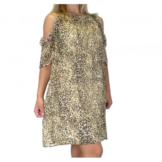 YES ZEE WOMEN'S DRESS A223/EF00 COL.V.U.