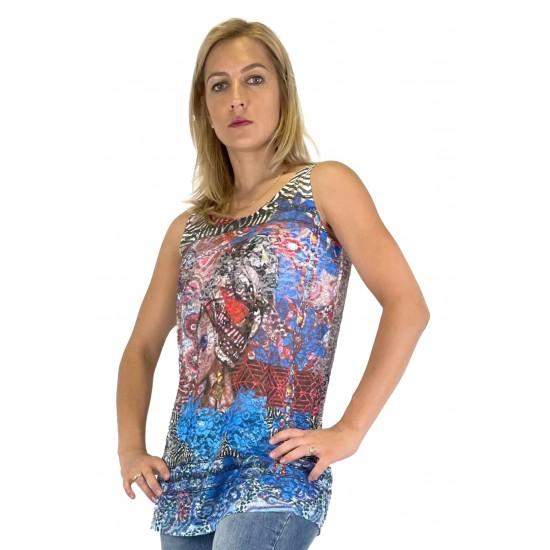 YES ZEE WOMEN'S T-SHIRT T250/Y204 COL.2700