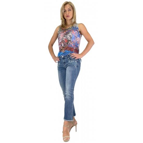 YES ZEE WOMEN'S TROUSERS P328/P983 COL.J712