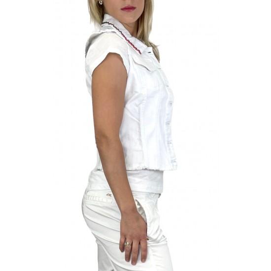 YES ZEE WOMEN'S VEST J221 / PE00 COL.0101